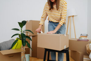 Does the Idea of Packing Overwhelm You? Learn a Simple Solution to Get Ready to Move Your Living and Dining Room